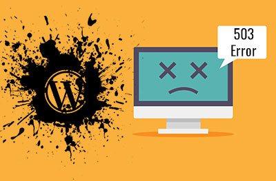 How to Fix 503 Service Unavailable Error in WordPress -